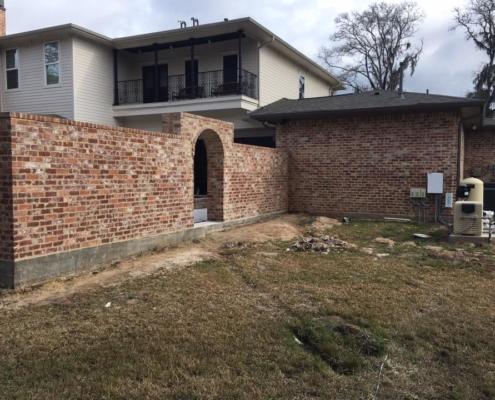 brick archway