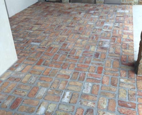 brick patio restoration