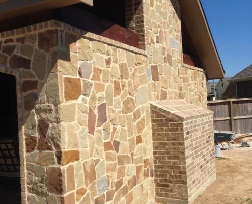 detailed brick wall
