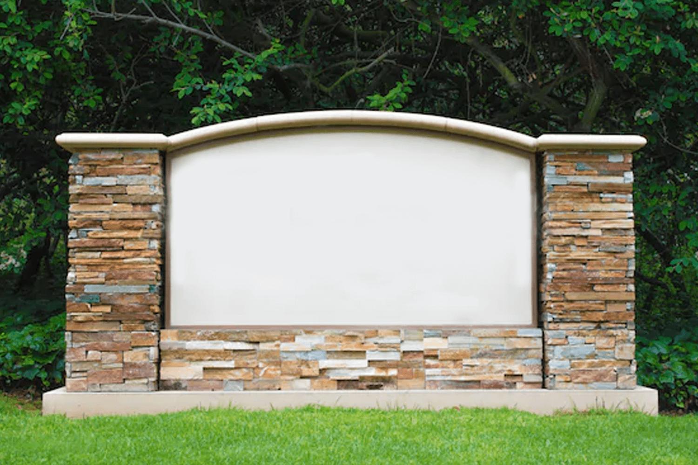 brick monument sign services
